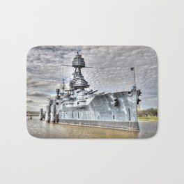 Battle Ship Texas Bath Mat