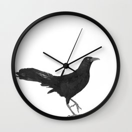 Great-tailed grackle Wall Clock