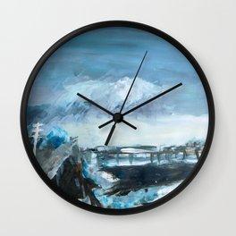 Bay Wall Clock