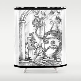 Graven Images - Pantheism Shower Curtain
