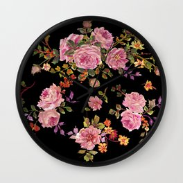 Floral  Extra Delight Wall Clock