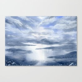 As Above, So Below. Canvas Print