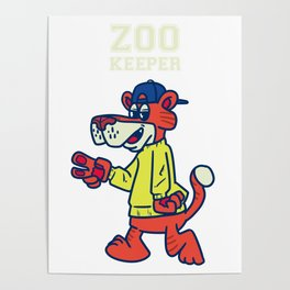 Zoo, Animal, Pet Poster