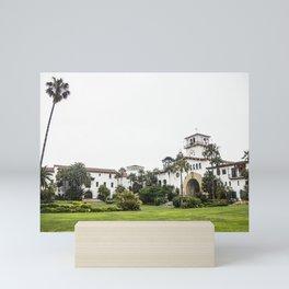 Santa Barbara County Courthouse Mini Art Print