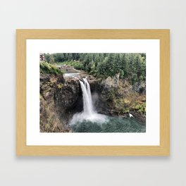 Snoqualmie Falls #2 Framed Art Print