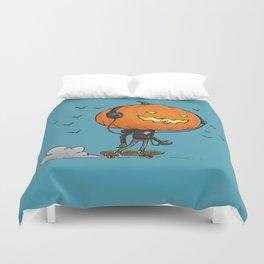 The Skater Pumpkin Duvet Cover