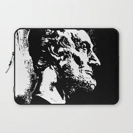 Face Lincoln Laptop Sleeve