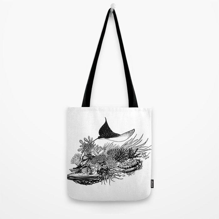 Eagle Ray Tote Bag
