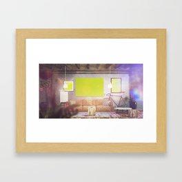 Scene 2 Framed Art Print