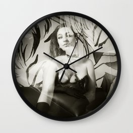 Echoes of Desire Wall Clock