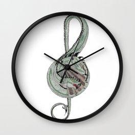Dragon Treble Wall Clock