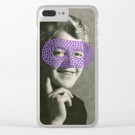 The Crochet Family 005 Clear iPhone Case