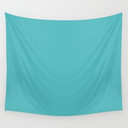 Tiffany Blue, yep that's the colors name! Wall Tapestry