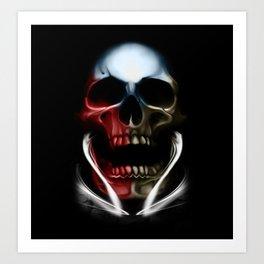 CZ skull Art Print