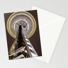 Night Needle Stationery Cards