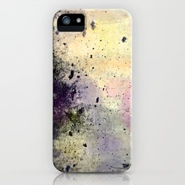 Abstract Mixed Media Design iPhone Case