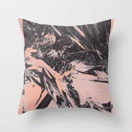 Neon Butterfly stg 03 ACID Throw Pillow