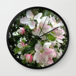 Simple Blossoms Wall Clock