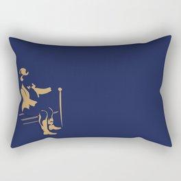 let me rest a bit Rectangular Pillow