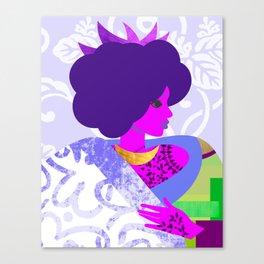Queen's Robe Canvas Print