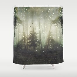 wonders and mysteries Shower Curtain