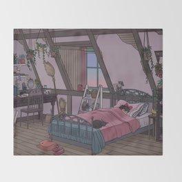 Kiki's Room Throw Blanket