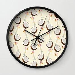 Coconut & PinaColada Wall Clock