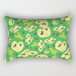 Greeny Pears Rectangular Pillow