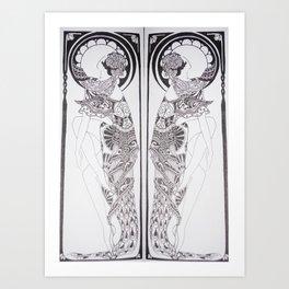 Dancer Series Art Print