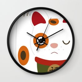 See no, hear no, speak no evil 【見猿、聞か猿、言わ猿】 Wall Clock