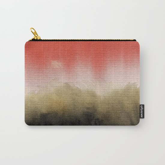 Watercolor abstract landscape 14 Carry-All Pouch