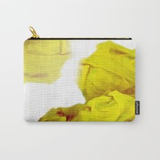 Yellow Ink Carry-All Pouch