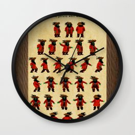 Monkey Island - LeChuck's Moves Wall Clock