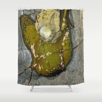 rocky horror Shower Curtains featuring Rocky by CrismanArt