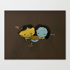They Totally Smelted Canvas Print