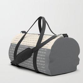ANNABEL LEE (Allan Poe) Duffle Bag