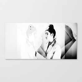 Confront Yourself Canvas Print