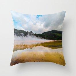 Earth's Wrath Throw Pillow