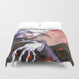 Dracula Bad Romance Duvet Cover