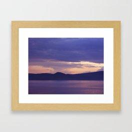 Lake 3 Framed Art Print