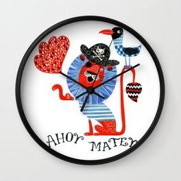 Yohoho Wall Clock