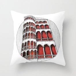 """la spirale"" - Venice Throw Pillow"