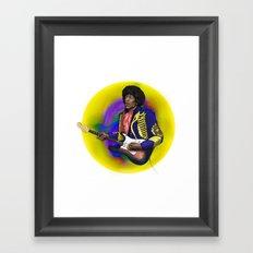 James Marshall Hendrix Framed Art Print