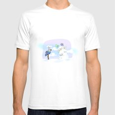 Holiday tradition   Mens Fitted Tee White MEDIUM