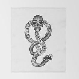 The Dark Mark  - Original Throw Blanket