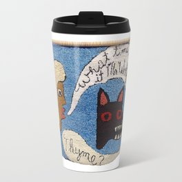 What time is it Mr. Wolf? Travel Mug