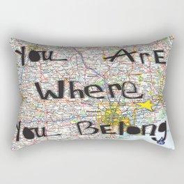 Where You Belong-Houston Rectangular Pillow
