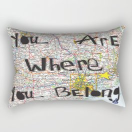 Where You Belong-Houston Rectangular Pillow