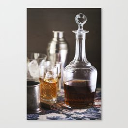 Vermouth  still life. Canvas Print