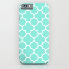 MOROCCAN {TEAL & WHITE} Slim Case iPhone 6s